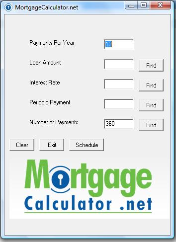 Free Mortgage Calculator Download - Easy To Use Calculator